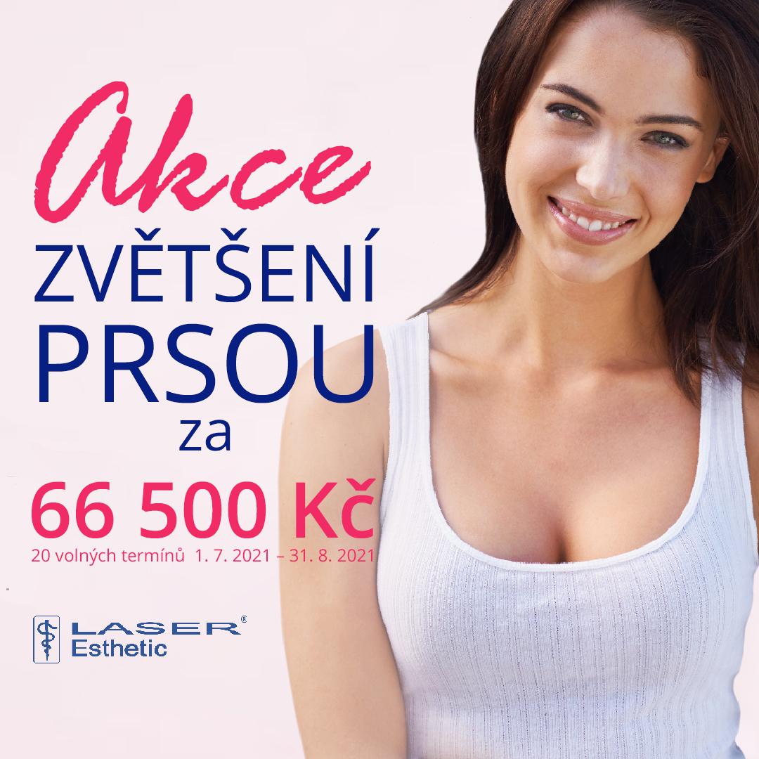 Sleva na operaci zvětšení prsů